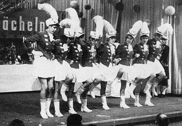 1. Auftritt der Regimentstöchter, Großsonntag 1967