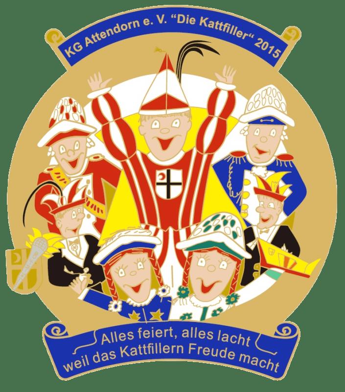 """Karnevalsgesellschaft Attendorn e.V. """"Die Kattfiller"""" 2015"""