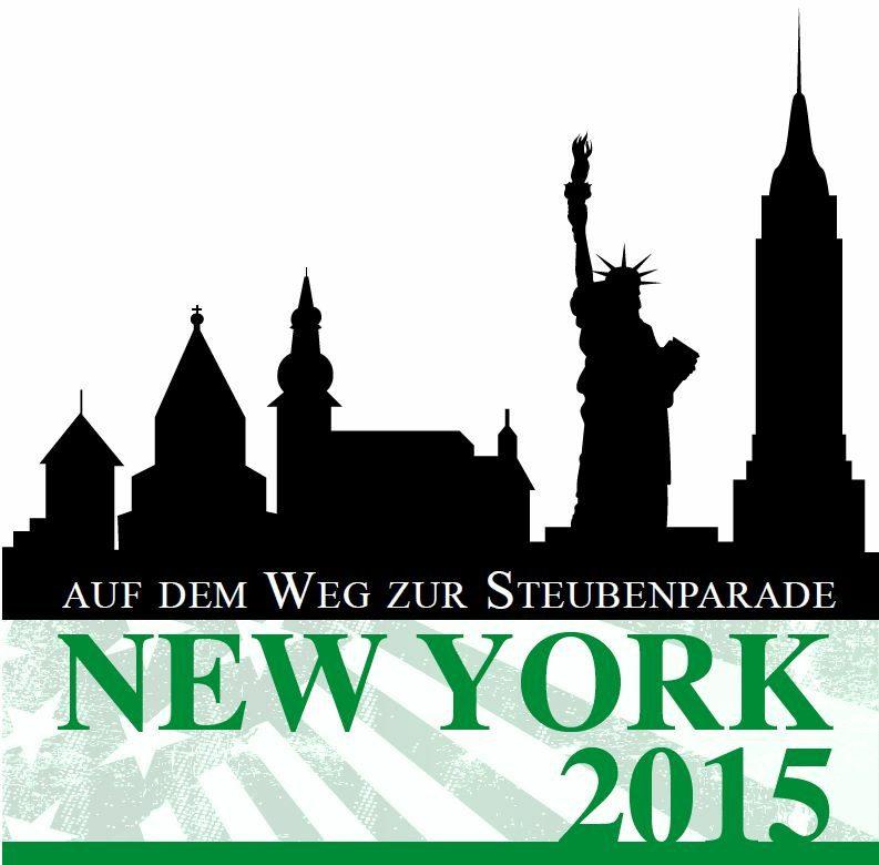 Auf dem Weg zur Steubenparade 2015