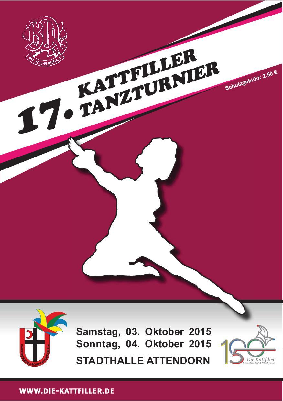 17. Kattfiller-Tanzturnier 03./04. Oktober 2015