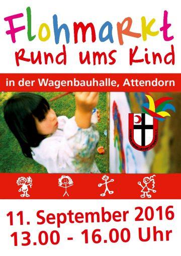 Plakat Flohmarkt