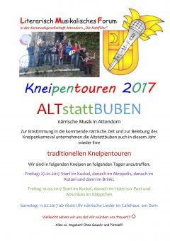 ALTstattBUBEN Termine Kneipentouren 2017