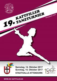 Ergebnisse 19. Kattfiller-Tanzturnier 2017