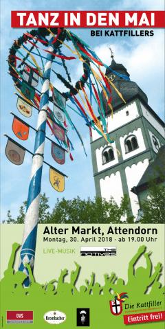 """Tanz in den Mai bei Kattfillers auf dem """"Alter Markt"""""""