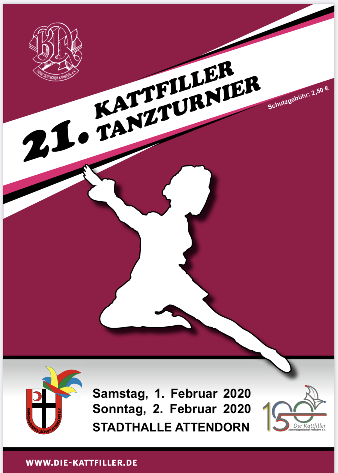 Ergebnisse 21. Kattfiller-Tanzturnier 2020
