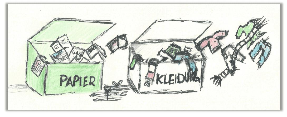 Altpapier- und Kleidersammlung der Attendorner Wagenbauer