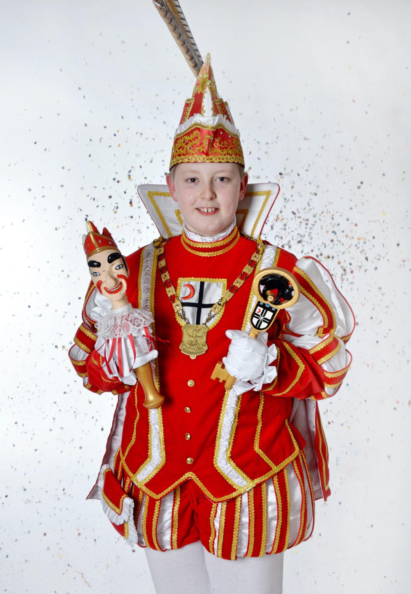 Leo II. (Otte) regiert den närrischen Nachwuchs