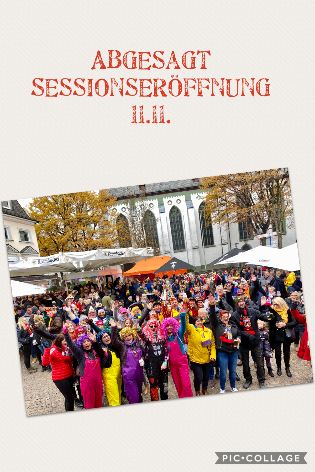 Abgesagt – Sessionseröffnung 11.11.