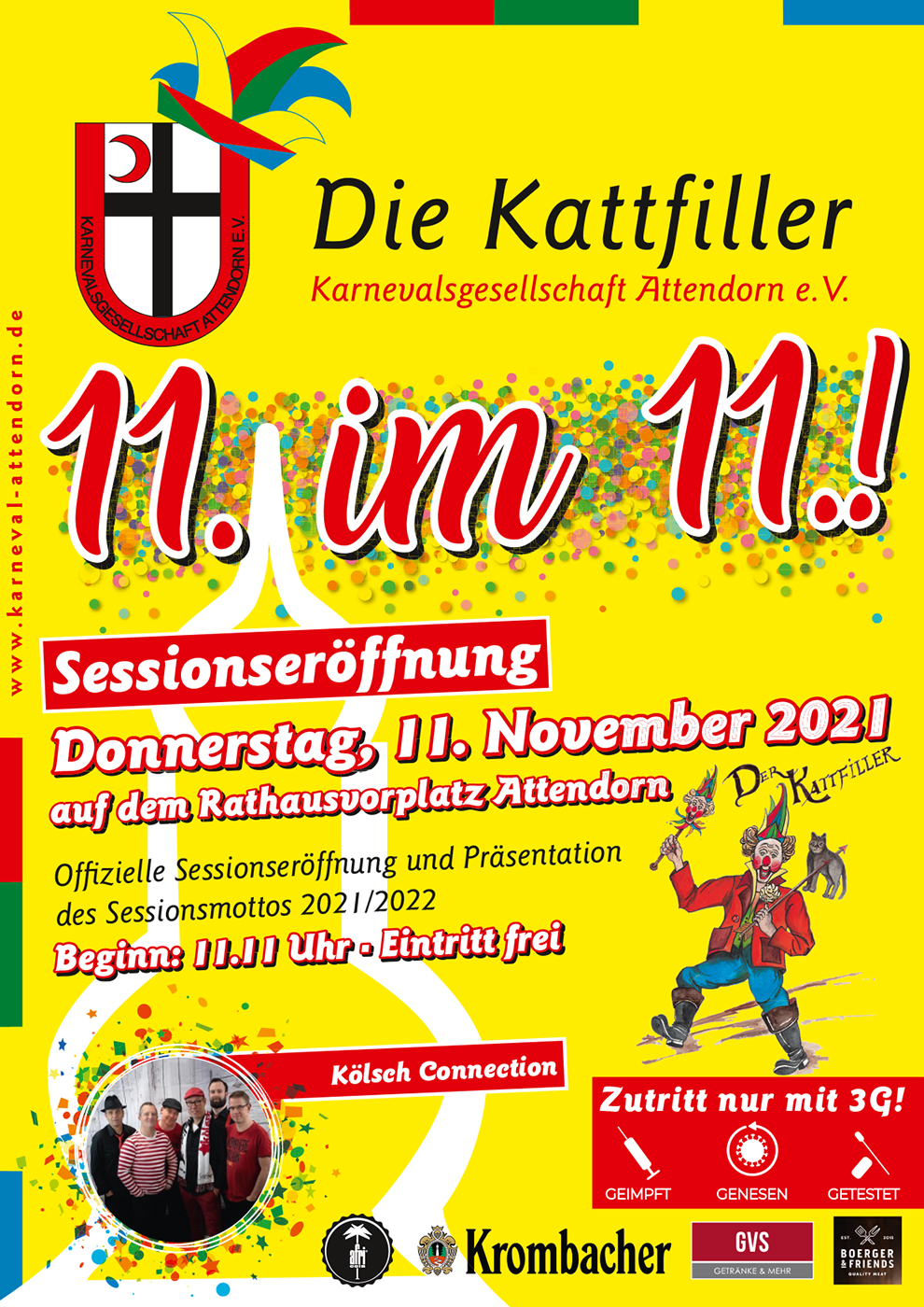 Sessionseröffnung 2021 - Die Kattfiller Karnevalsgesellschaft Attendorn